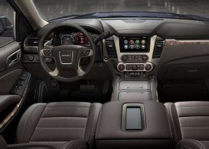gmc yukon interior     suv models