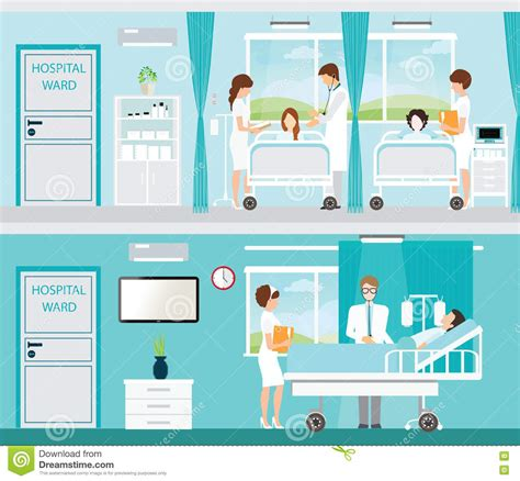 h el avec dans la chambre docteur et patient dans la chambre d 39 hôpital avec des lits
