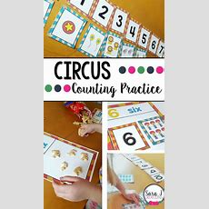Circus Themed Counting Practice  Numbers, Math And Activities