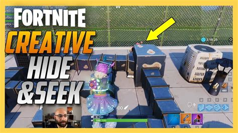fortnite creative hide  seek map  madela swiftor
