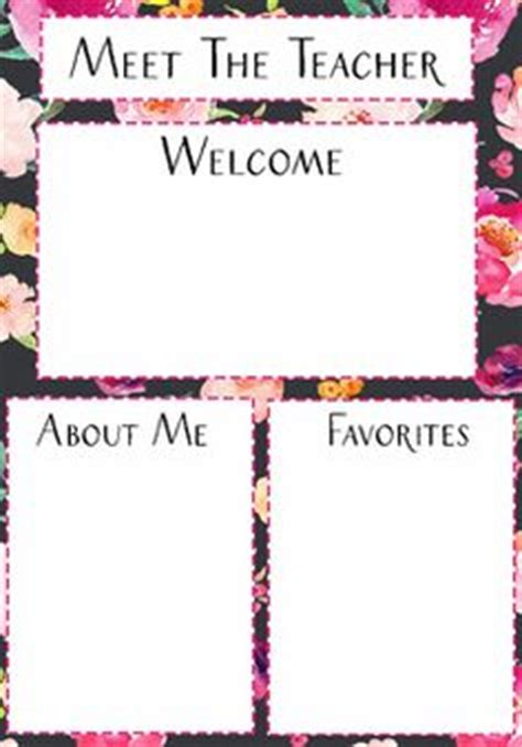 free meet the template 1000 images about miss kiz on meet the templates and parent contact