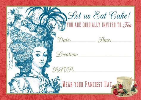 tea party invite printable tutorial  graphics fairy