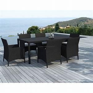 Table Et Chaise Jardin : table et chaises de jardin ~ Teatrodelosmanantiales.com Idées de Décoration