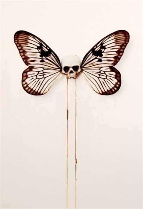 Face Skulls Butterfly Tattoo Ideas Pinterest