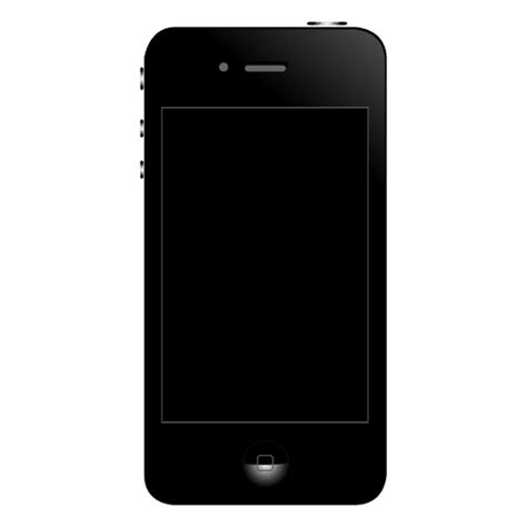 iphone 4 front iphone 4 front transparent png svg vector