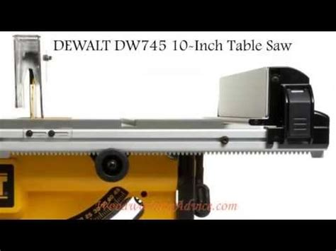 dewalt table saw anti kickback assembly dewalt compact table saw dw745 how to set up and use