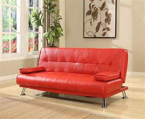 caitlin red faux leather sofa bed search sofa collections With red leather futon sofa bed