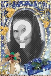 Cadre Photo Lumineux : cadre lumineux de photo de no l de personnaliser photoeffets ~ Teatrodelosmanantiales.com Idées de Décoration
