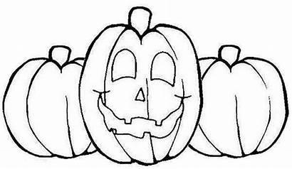 Pumpkin Coloring Pumpkins Pages Printable Halloween Jack