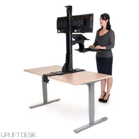 stand up desk converter shop uplift standing desk converters