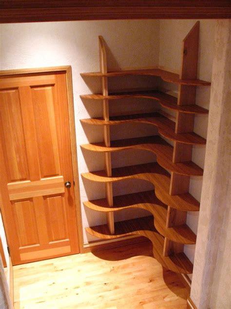 Build Corner Bookcase by Corner Shelves Bookshelves Bookends Amp Gadgets Pinterest