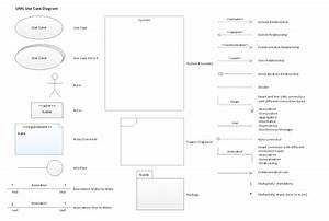 Uml Use Case Diagram  Design Elements