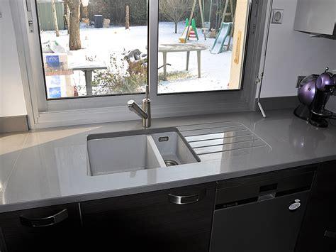nettoyant inox cuisine intérieur granit plan de travail en quartz unistone grigio