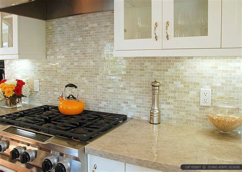 12 White ONYX Subway Backsplash Idea