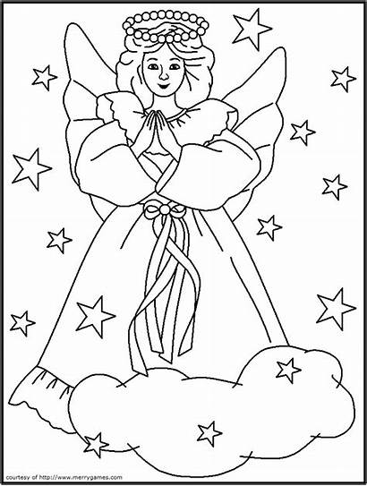 Coloring Christian Christmas Pages Colouring Popular