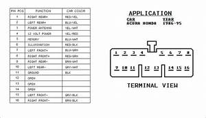 94 Honda Accord Radio Wiring Diagram