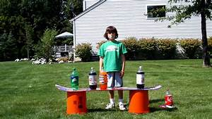 Soda And Mentos Experiment 09 13 09 Youtube