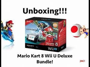 Mario Kart Wii U : wii u mario kart 8 bundle unboxing youtube ~ Maxctalentgroup.com Avis de Voitures