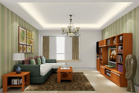 American House Design Living Room Interior