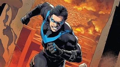 Nightwing Comics Dc Angry Wallpapers Costumes Superman