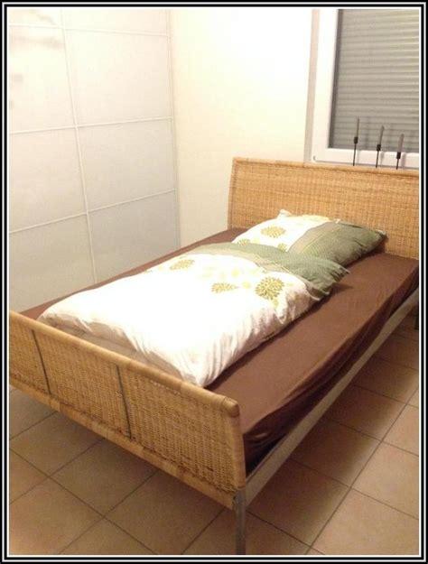 Ikea Bett Rattan Sundnes  Betten  House Und Dekor