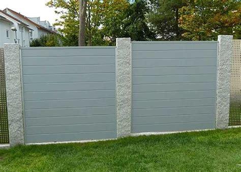 Garten Sichtschutz Kunststoff Grau by Sichtschutz K Sichtschutz Kunststoff Grau For Wpc