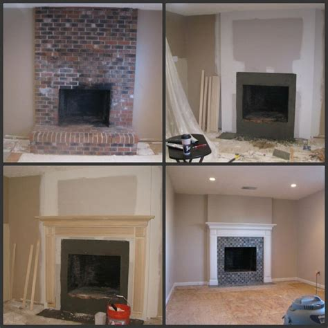 remodel ideas for small bathroom brick fireplace makeover to always look