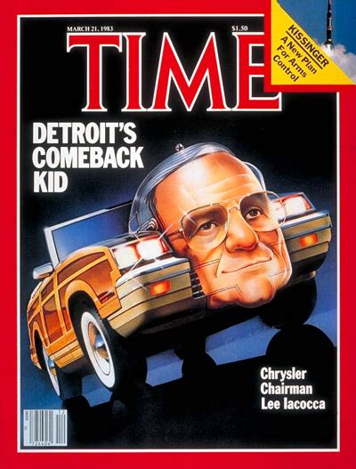 time magazine cover lee iacocca mar   lee