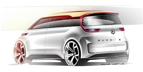Ces 2018 Volkswagen Budd E Concept Electric Van Is