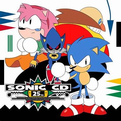 Sonic Cd Metal Happy Stones Redd Eggman