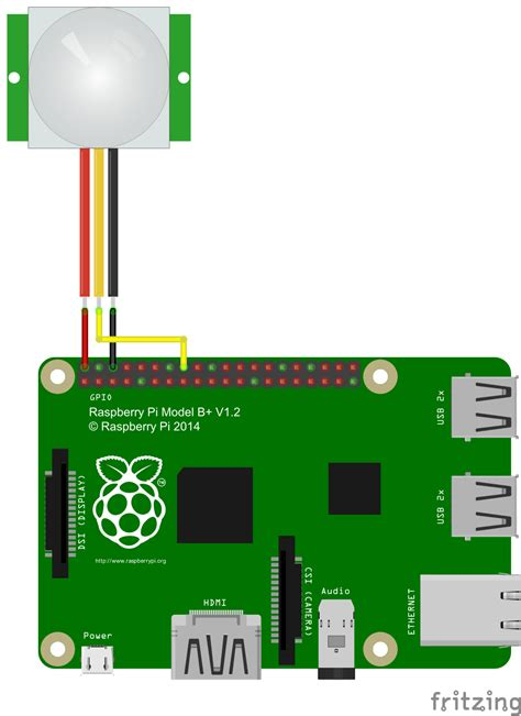 raspberry pi motion connect and raspberry pi motion detector pir