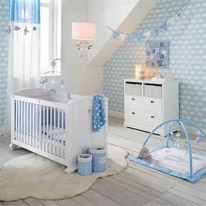 Deco Chambre Bebe Bleu : id e d co chambre gar on blog deco clem around the corner ~ Teatrodelosmanantiales.com Idées de Décoration