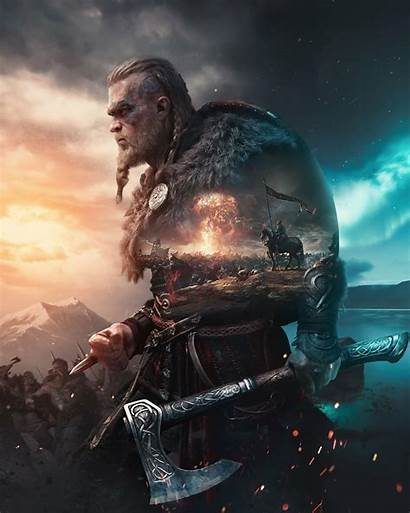 Valhalla Creed Assassin Viking Artstation Resolution Wallpapers