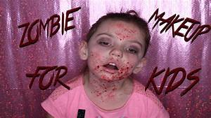 This is Halloween | Zombie makeup for kids - YouTube