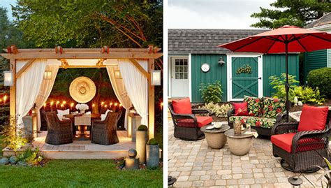 patio furniture on a budget home design ideas and pictures 10 deck and patio decorating ideas