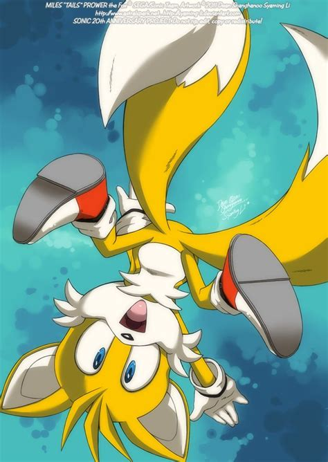 classic tails  fox prower miles tails prower