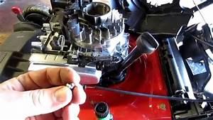 Briggs Push Mower Flywheel Brake Repair