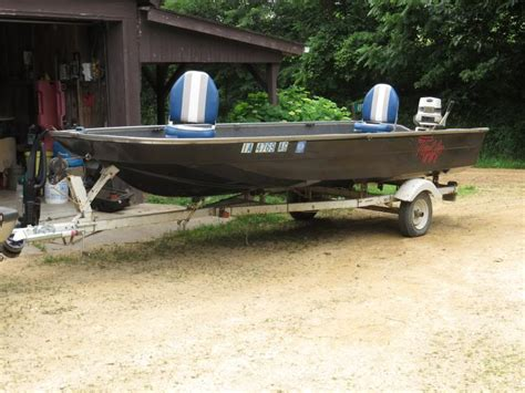 Boat Motor Repair Iowa by Iawaterfowlers 17ft Tuffy 1600 Or Trade For Mud Motor