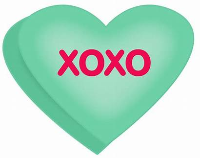 Conversation Hearts Heart Clip Clipart Xoxo Candy