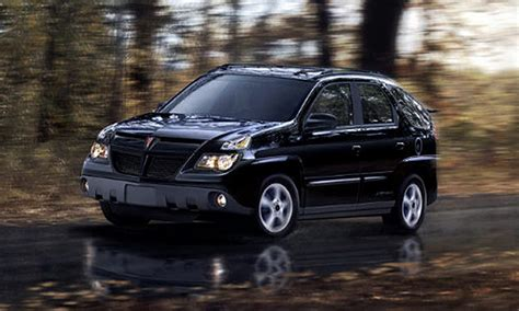 pontiac aztek history pictures  auction sales