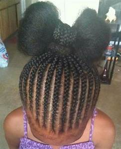 Braided Hairstyles For Kids With Natural Hair Cute