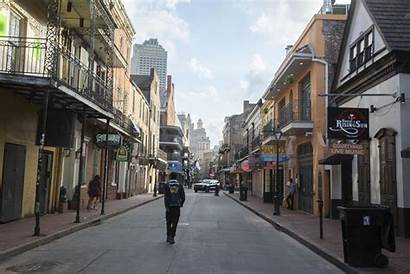 Coronavirus Orleans Covid Nola Street During Bourbon