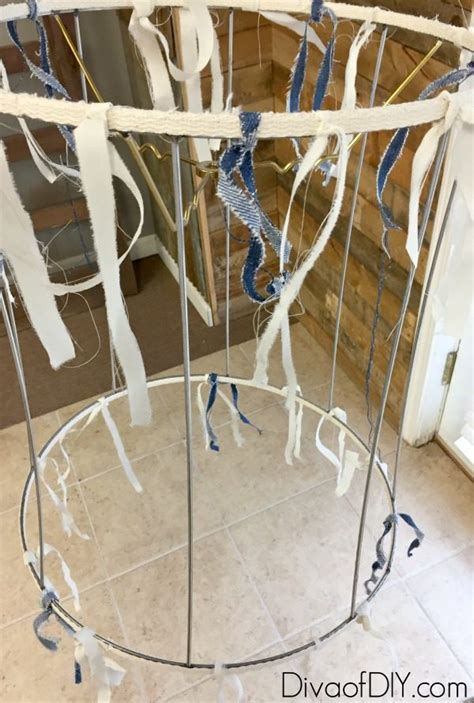 make shabby chic chandelier make this deconstructed shabby chic chandelier diva of diy