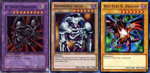 yugioh b skull summoned skull b 3 card set