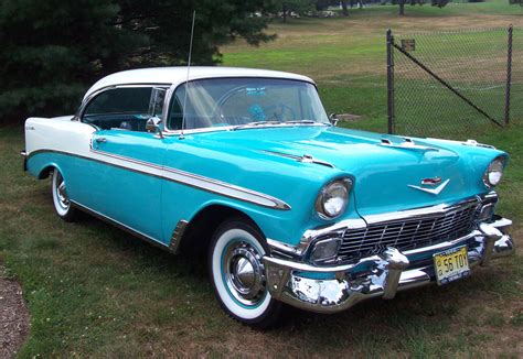 Classic Cars Cevrolet Chevy Bel Air 1955, 1956, 1957