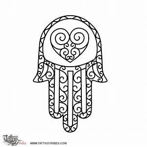 Tattoo of Hand of Fatima, Protection tattoo - custom ...