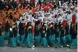 Asian games opening ceremony photos