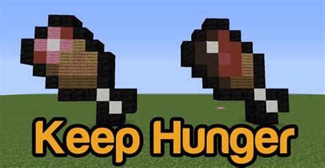 hunger mod   minecraft mc modnet