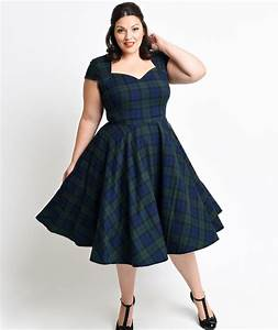 fifties dresses plus size pluslookeu collection With plus size 50s wedding dress