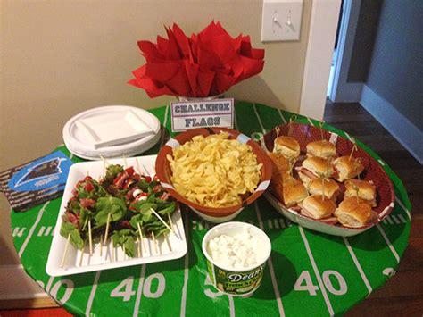 football food ideas fantasy football draft party take 2 sunny slide up
